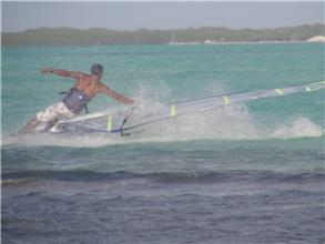 Bonaire - Caribbean - Windsurfing Lac Bay - vacation rental Coco Palm Garden