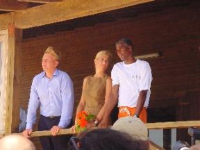 Bonaire Caribbean - Royal Visit at The Windsurfing Place